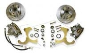 60-70 Chevrolet Truck Front Disc Brake Conversion Wheel Kit