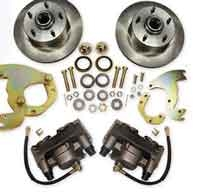 41-68 Cadillac Front Disc Brake Conversion Wheel Kit