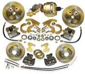 58-70 Chevrolet Impala Complete Front and Rear Disc Brake Kit