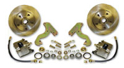 53-62 Chevrolet Corvette Front Disc Brake Conversion Wheel Kit