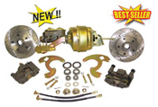 64-73 Chevrolet Chevelle Front Disc Brake Kit w/Booster Combo