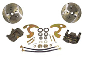 64-73 Chevelle Front Disc Brake Conversion Wheel Kit