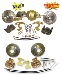 64-73 Chevrolet Chevelle Front/Rear Disc Brake Conversion Kit