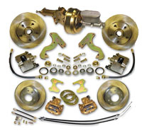 53-62 Chevrolet Corvette Front/Rear Disc Brake Conversion Combo